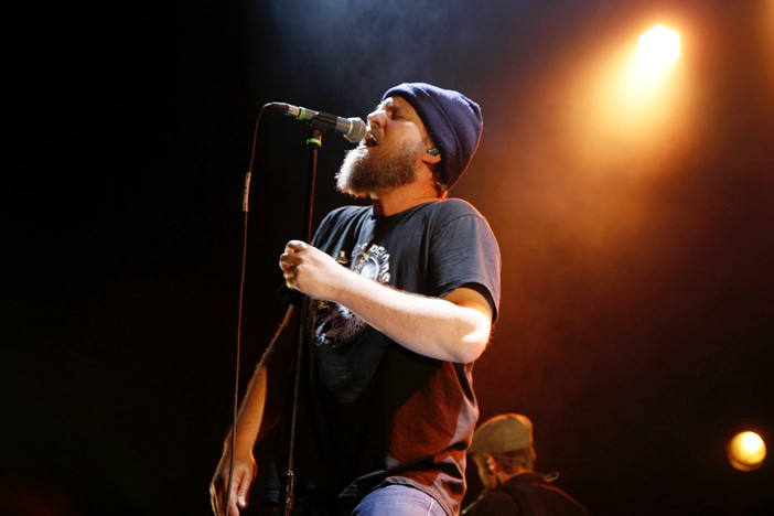 John Grant singing with passion
