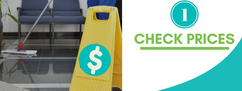 prices are a factor in choosing a commercial janitorial service