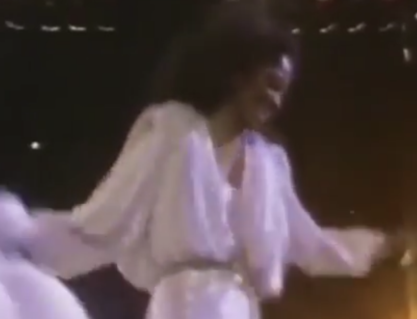 Diana Ross (screen shot from youtube video)