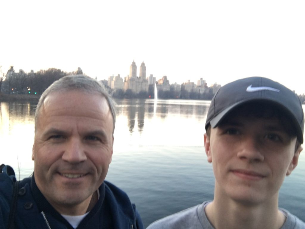 Riley and I in Central Park. We had great weather for the entire trip.