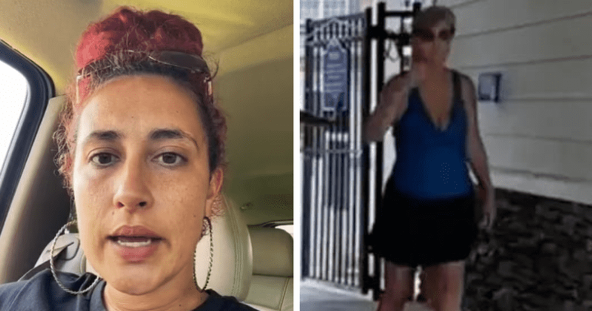 Karen Arrested After Trying To Block Black Child From Entering The Pool