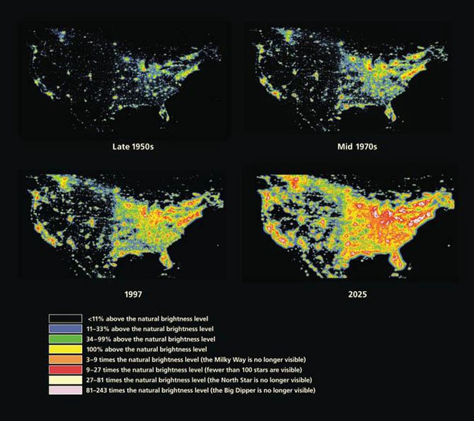 This Is How To Bring Dark Skies Back In An Increasingly Developed World