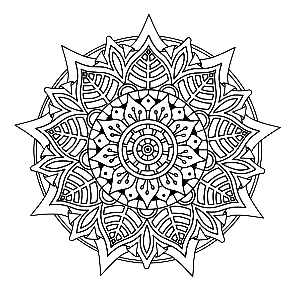 How to Draw a Mandala in Concepts - Concepts App - Medium