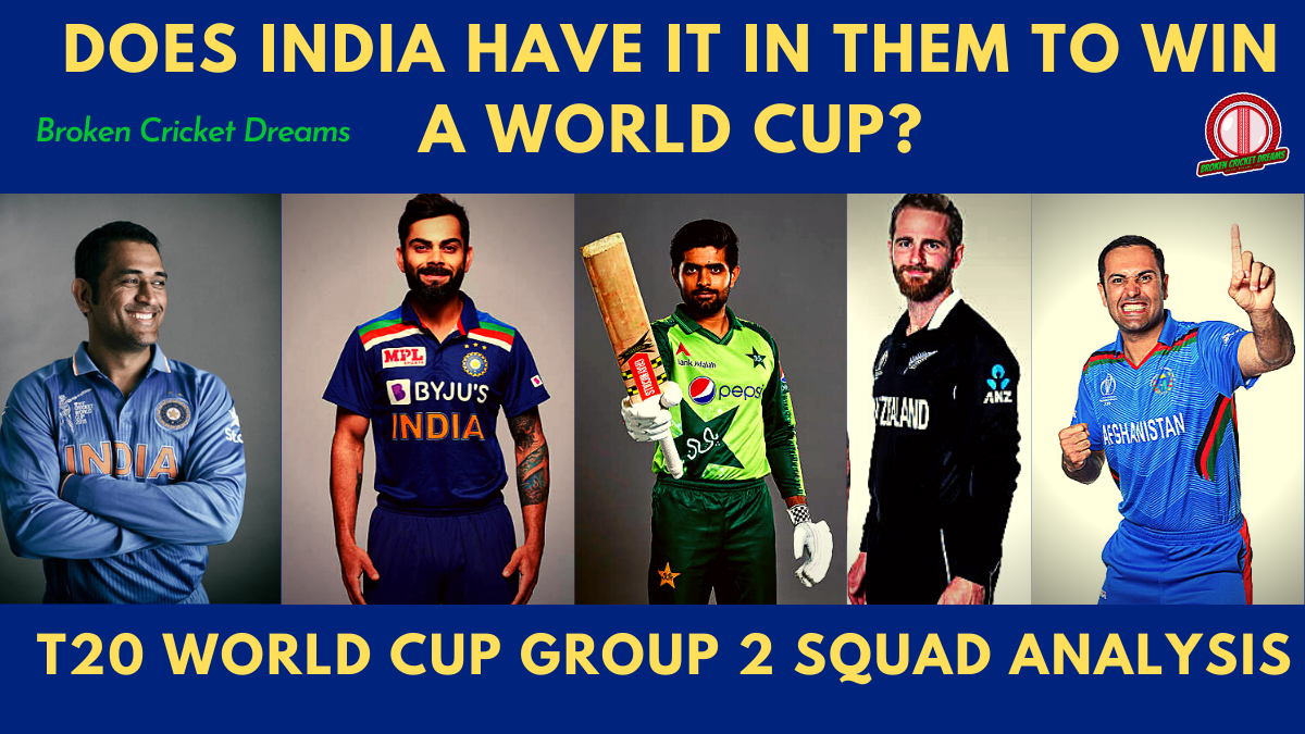 Group 2 2021 T20 World Cup Squads Dissected: India, Pakistan, Afghanistan, New Zealand—Asia Cup is Back!