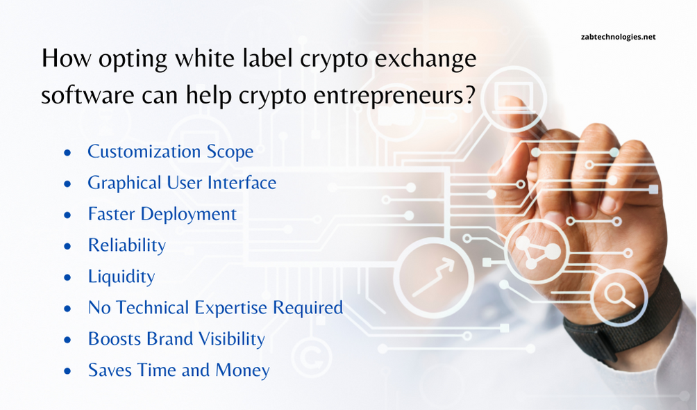benefits of white label crypto exchange software