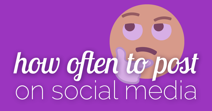 How Often To Post On Social Media [infographic]