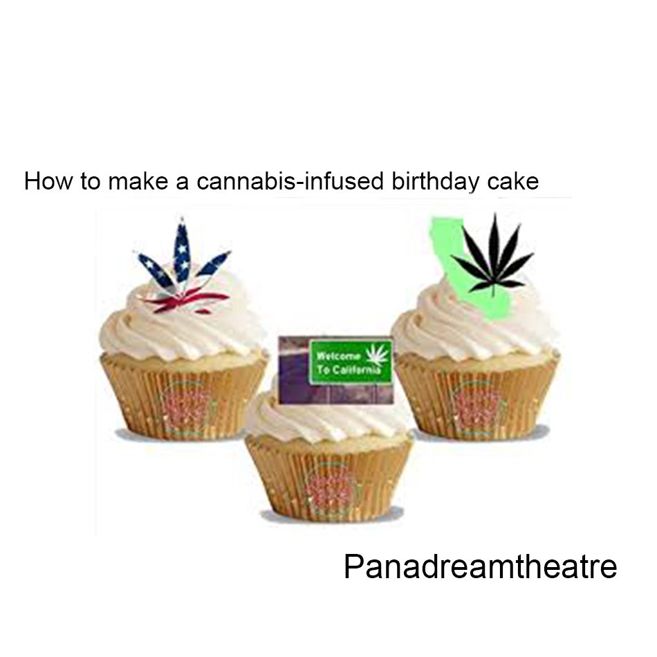 How to make a cannabis-infused birthday cake
