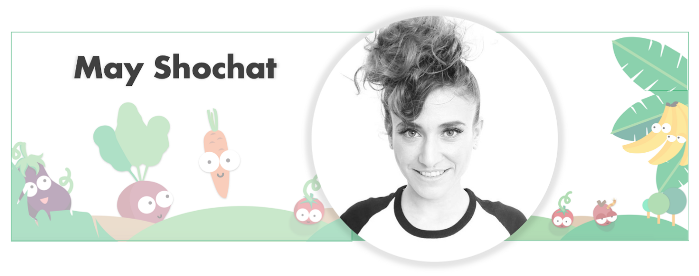 May Shohat: Co-founder and VP brand & Design at Shookit