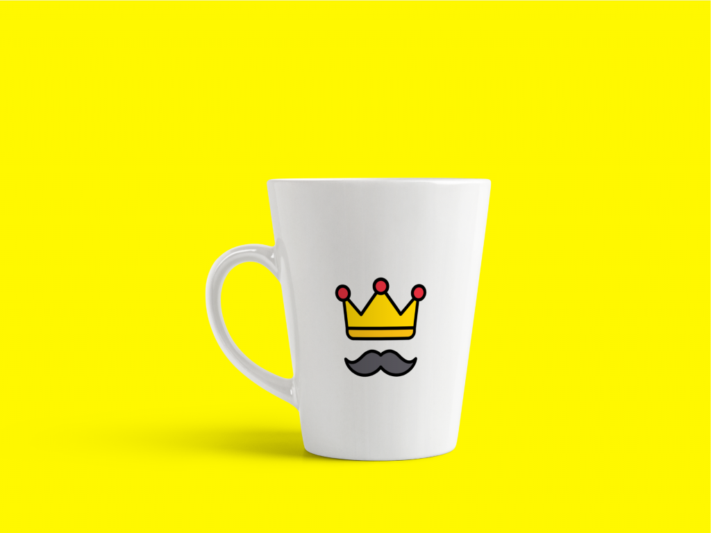 fathers day mock up in mug for free design assets on iconscout