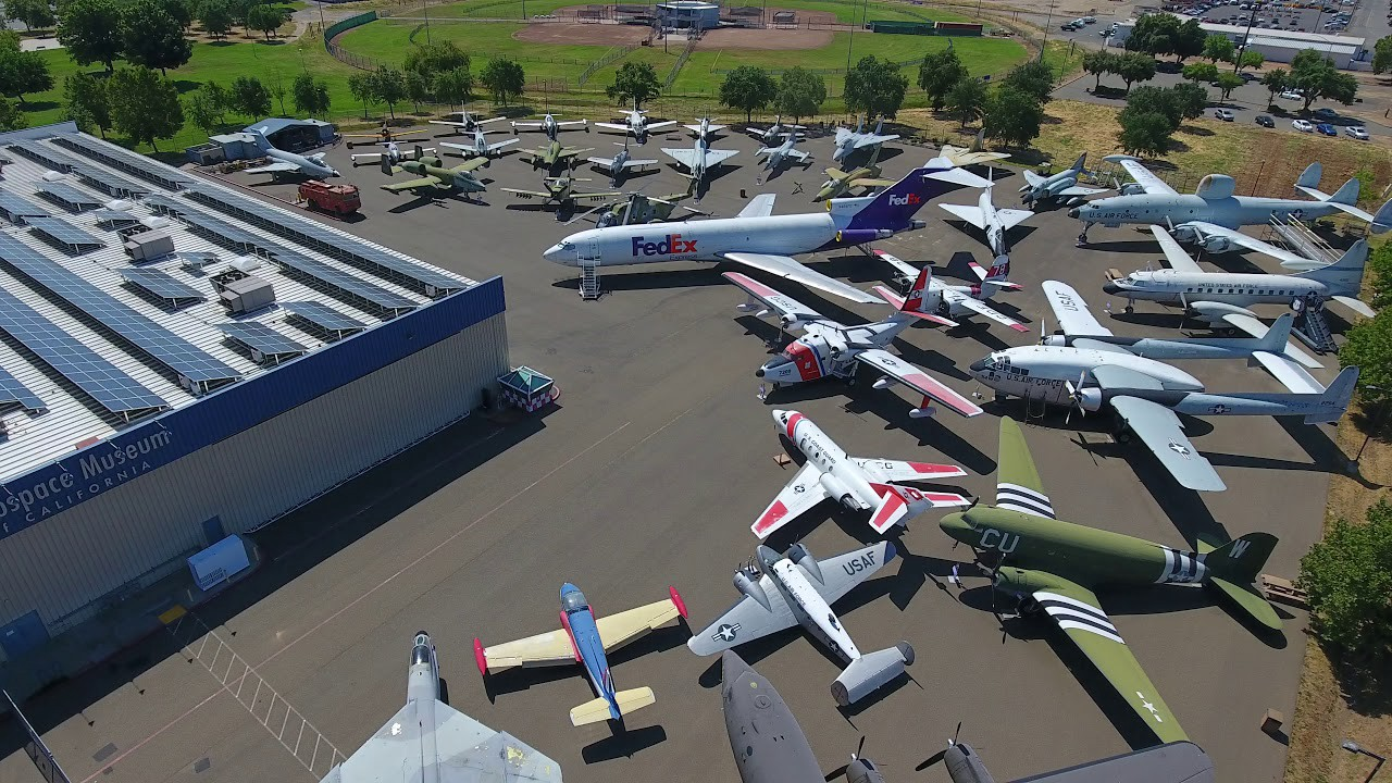 Reopening California: Discover the Aerospace Museum of California, welcomes visitors 4/17/21