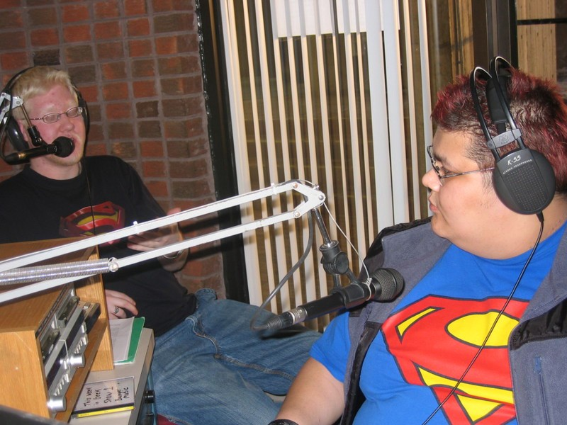 The early days of This Week in Geek, Niagara College 90.1 FM