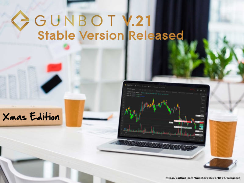 Gunbot V21 Gunthy News and End of the Year Report