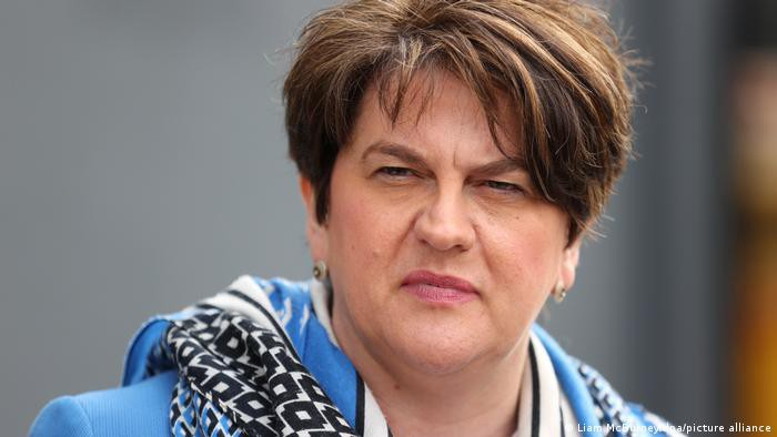 NI First Minister Foster to resign under party pressure