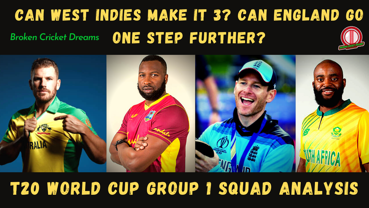 Group 1 2021 T20 World Cup Squads Dissected: Australia, England, South Africa, West Indies—Can West Indies Make It A Hat-Trick of World Cups?