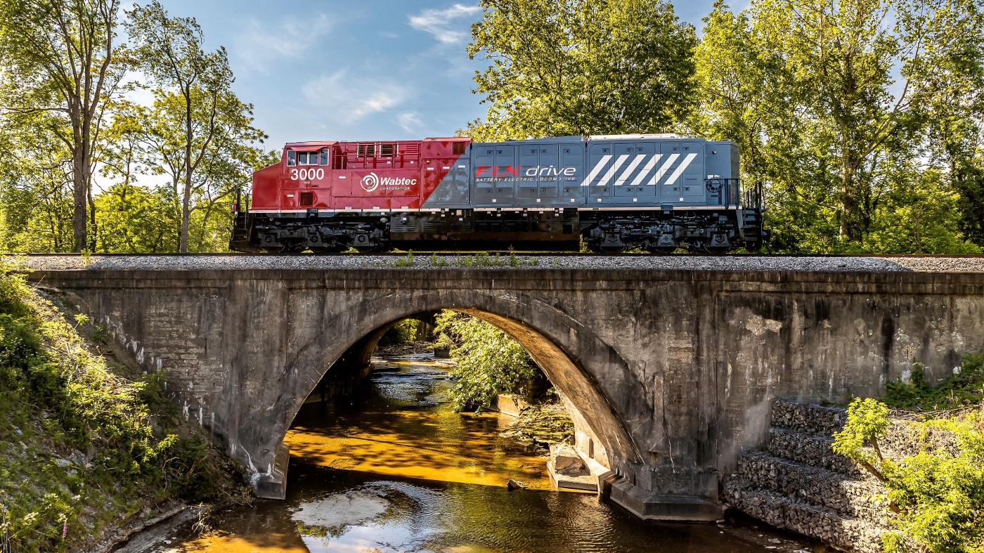 Wabtec goes green to accelerate more sustainable rail