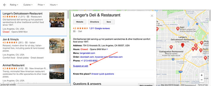 How to Optimize Your Business's Google Maps and Search Listings