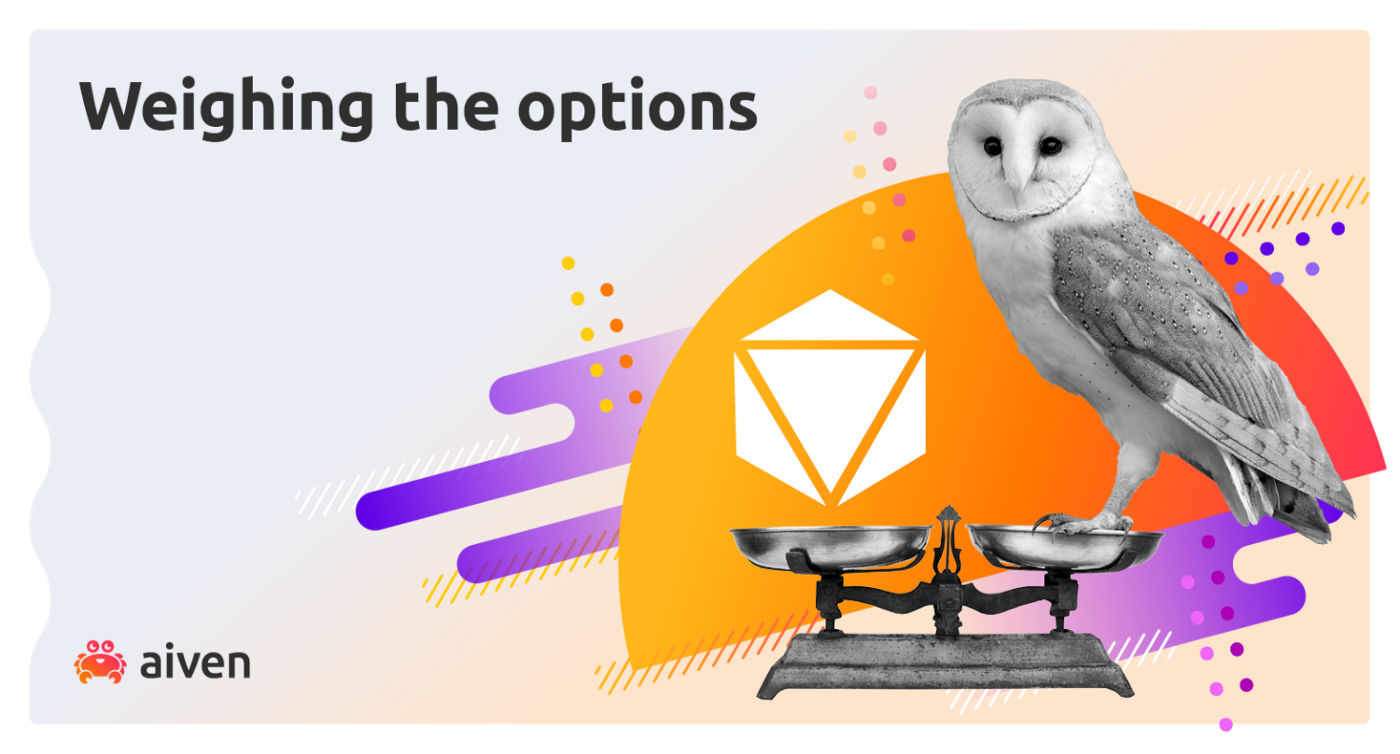 An owl sits on some scales, weighing up M3 against the time series database competition