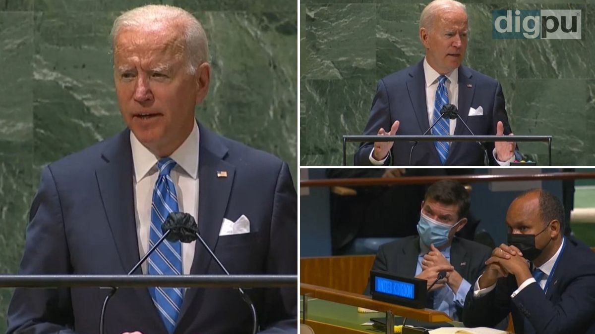 In his first UNGA address, Joe Biden believes world is at an 'inflection point'