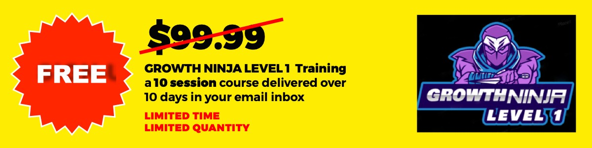 http://www.subscribepage.com/level_1_certified_growth_ninja_10_day_course
