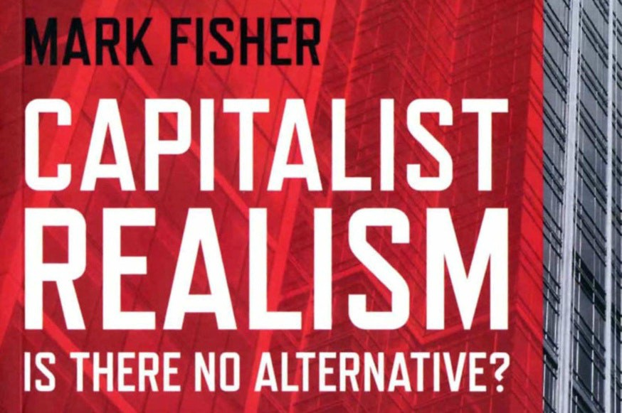 The cover of Capitalist Realism by Mark Fisher
