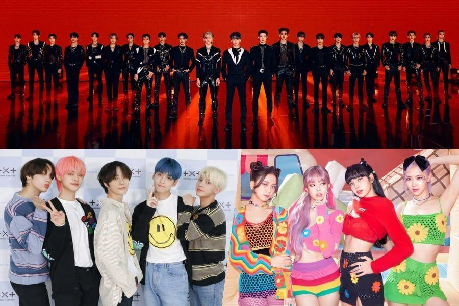 NCT, TXT, BLACKPINK and others in Top Gaon listings