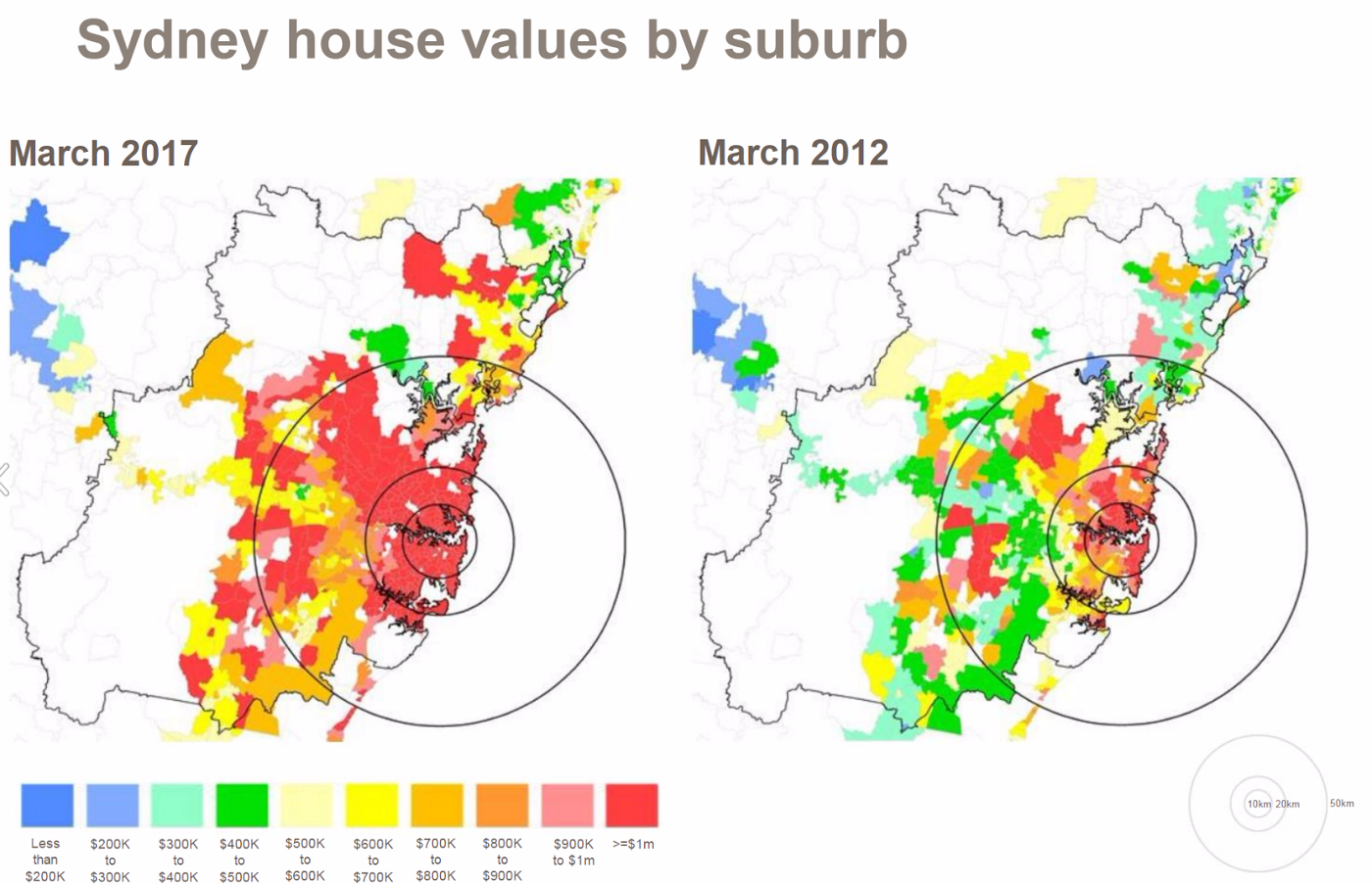 """5842be6cd6b This makes the median house price to household income ratio for Sydney 13x,  or over 2.6 times the threshold of """"severely unaffordable"""". Melbourne is  9.6x."""
