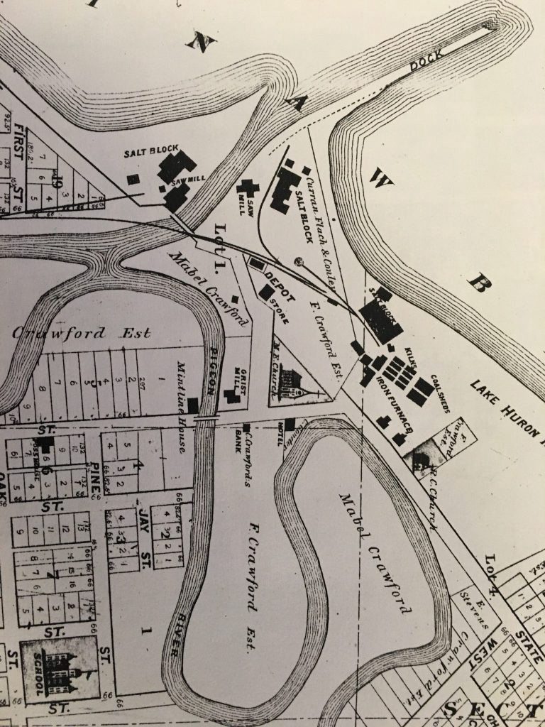 Caseville Michigan in the 1800s