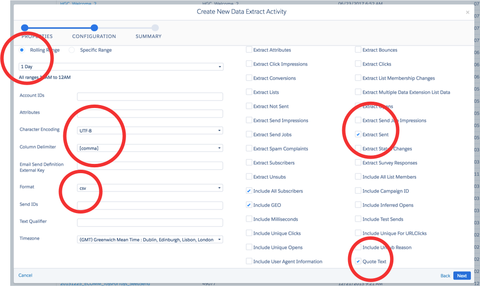 How To Export Email Tracking Data From ExactTarget Salesforce