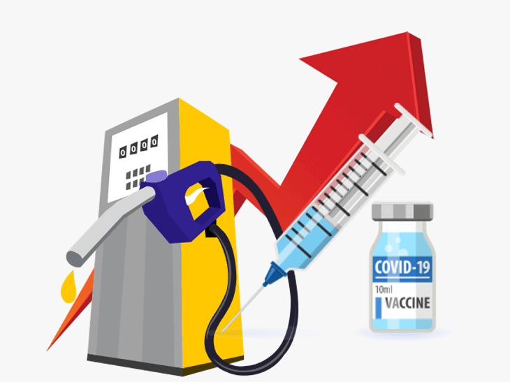 Free Covid 19 vaccines driving up fuel costs