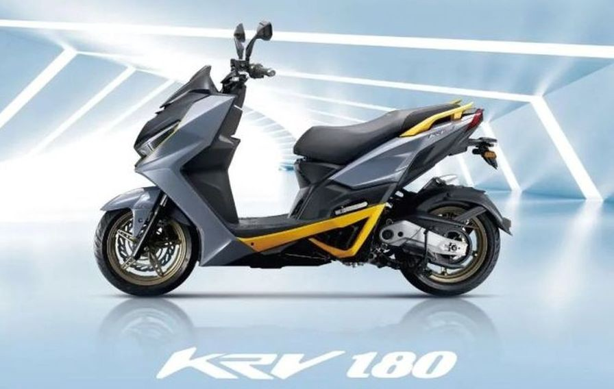 KYM Has Released the Entry-level KRV180 DDS Version