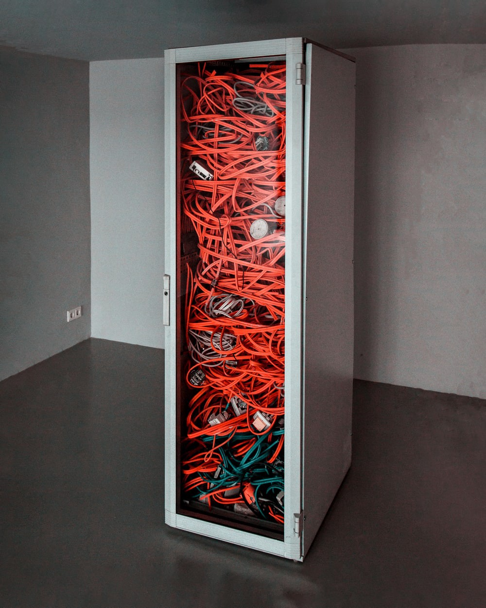 image with network cables