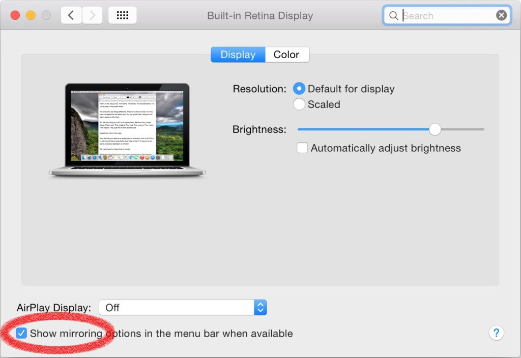 Stutter-free streaming from your Mac to AppleTV over AirPlay