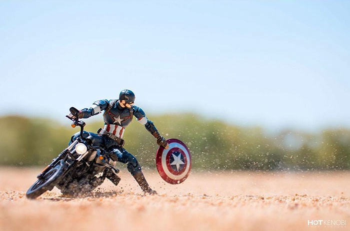 Marvel Super Heros Brought To Life In Stunning Pictures By Japanese Photographer