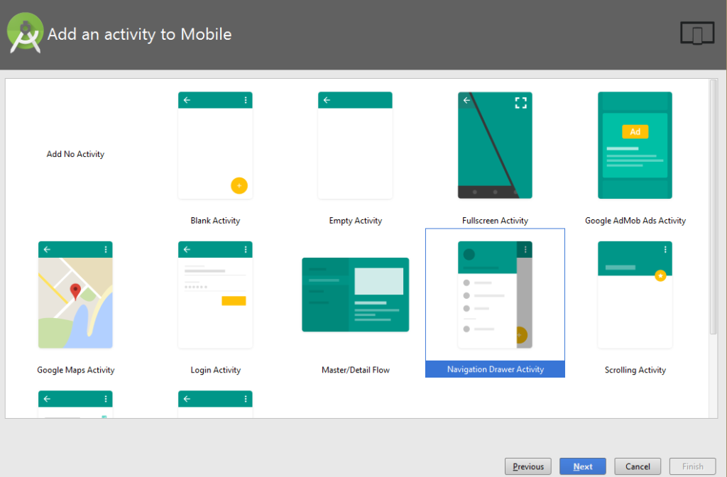 How to implement navigation drawer in your android app with an example