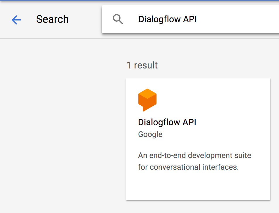 How to create a chatbot using Dialogflow Enterprise Edition and