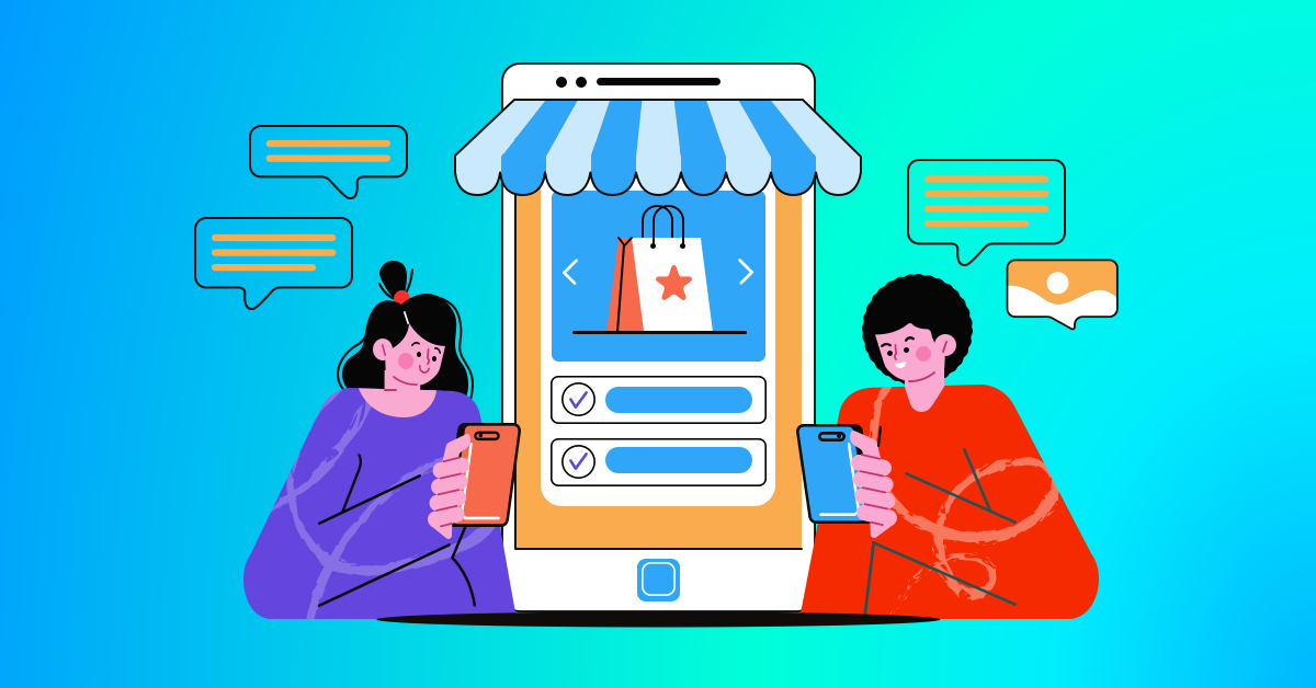 SMS notifications from eCommerce store being received