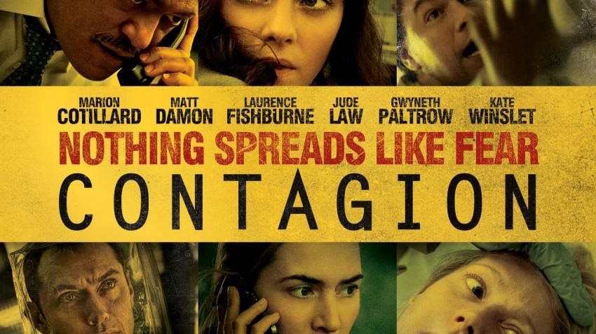 Contagion movie poster, a world after coronavirus