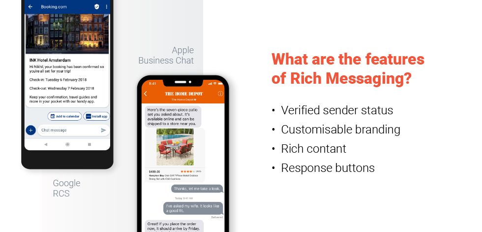 Rich Messaging Features