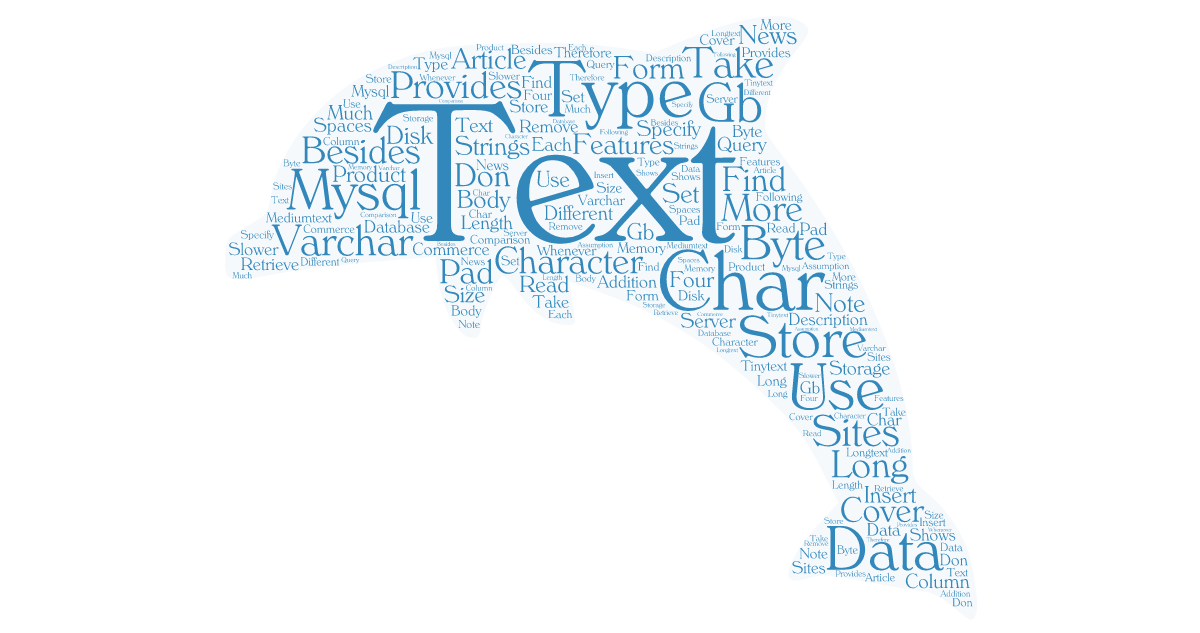 Optimizing MySQL and MariaDB for TEXT: A Guide