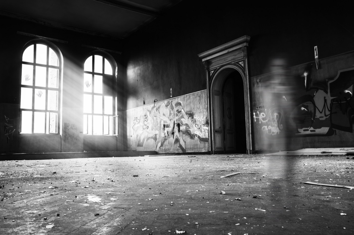 Spirits in an empty room
