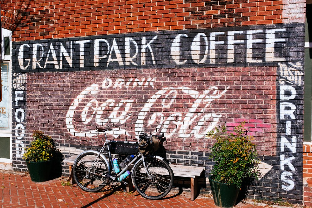 Absolutely THE best coffee we have had this ENTIRE YEAR! Grant Park Coffee
