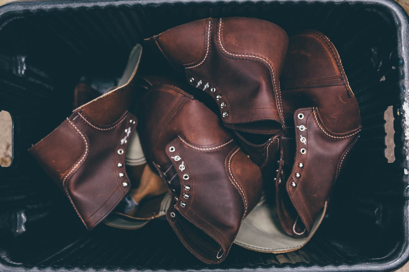 How Red Wing boots are made