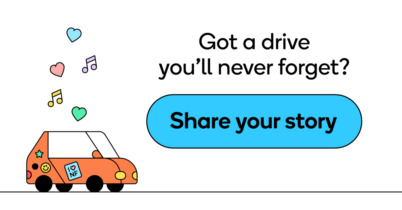 Share your recent drives with Waze.