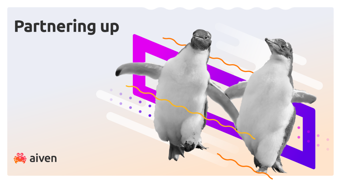 Two penguins dance hand in hand illustrating how cloud and open source technology help APAC businesses thrive.