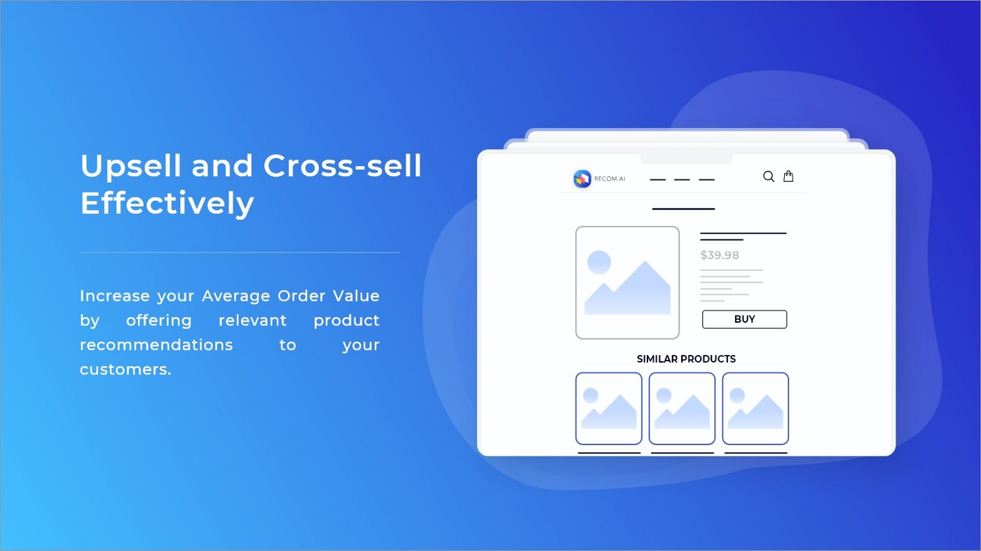 Upsell and Cross-sell effective