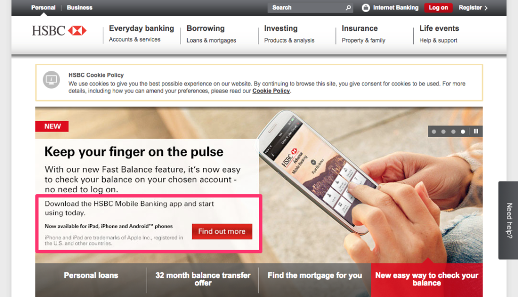 What Is The Username For Hsbc Mobile Banking