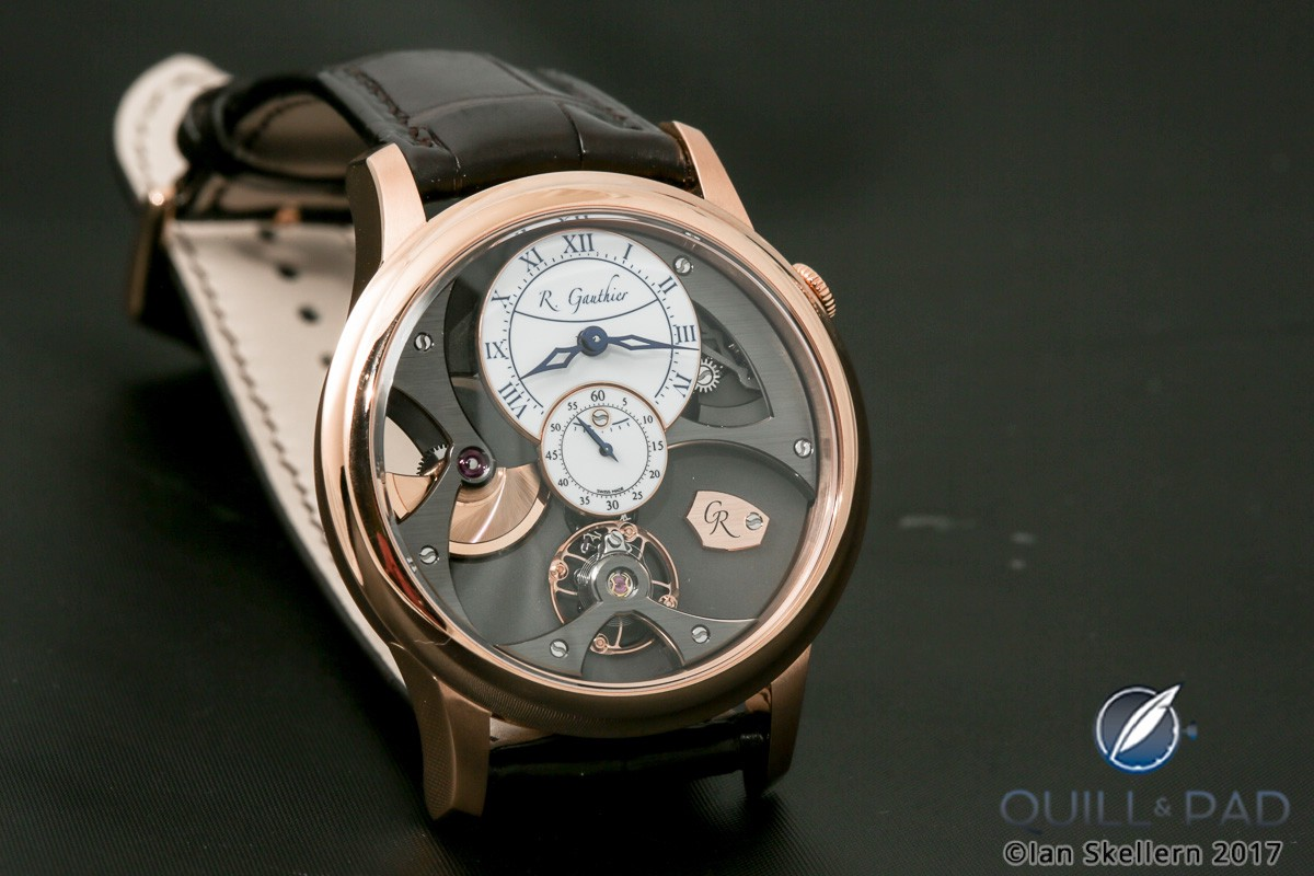 Romain Gauthier Insight Micro-Rotor in red gold