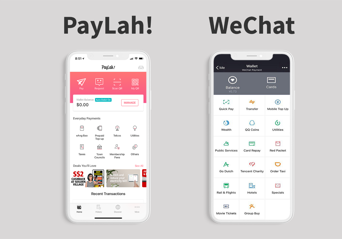 My country wants to go cashless, so I redesigned a digital wallet