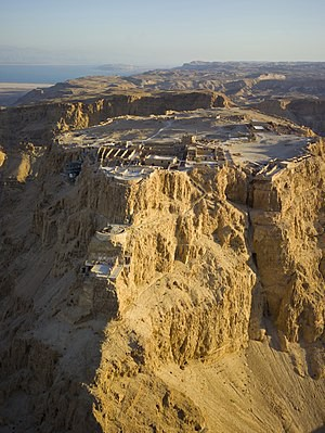 Picture of Masada By Andrew Shiva