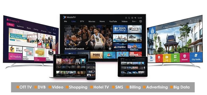 Discover SDMC's Android TV solution at Broadcast Asia 2019